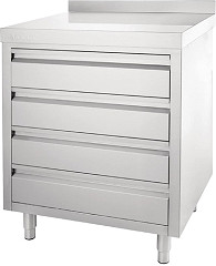 Vogue 4 Drawer Workstation