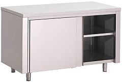 Gastro M Gastro-M S/S working table with sliding doors