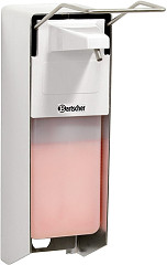 Bartscher Soap dispenser 1L, elbow-operated