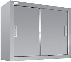 Vogue Stainless Steel Wall Cupboard 900mm