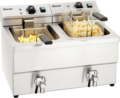 "Bartscher Double deep fat fryer ""IMBISS II"""