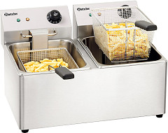 "Bartscher Double deep fat fryer ""SNACK IV"""