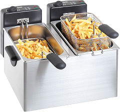"Bartscher Deep fat fryer ""MINI III"" 2x4L"