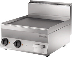 Bartscher Griddle plate 650, W600, smooth