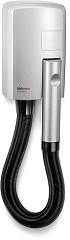 Valera Hotello Silver Compact and powerful wall-mounted hairdryer with hose