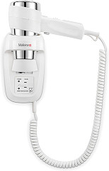 Valera Action Protect 1600 Shaver white Wall-mounted hairdryer with shaver socket