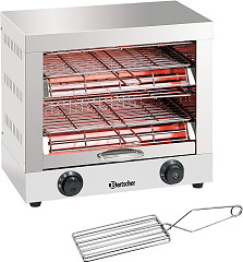 Bartscher Quartz tube toaster, double