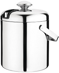 Olympia Ice Bucket with Lid and Tongs 1.23Ltr