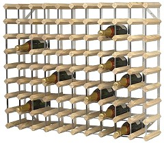 Gastronoble Wine Rack Wooden 90 Bottle