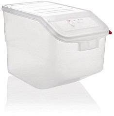 Araven Transparent Ingredient Bin 50Ltr