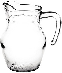 Olympia Glass Jug 0.5Ltr (Pack of 6)