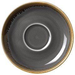 Olympia Kiln Smoke Saucer 160mm (Pack of 6)