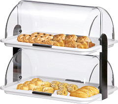 Bartscher Buffet display double, plastic