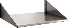 Bartscher Wall-mounting shelf 520x400mm, SS