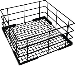 Vogue Wire High Sided Glass Basket 400mm